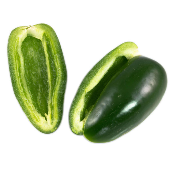 Jalapeño, Fresh, Halves/Boats