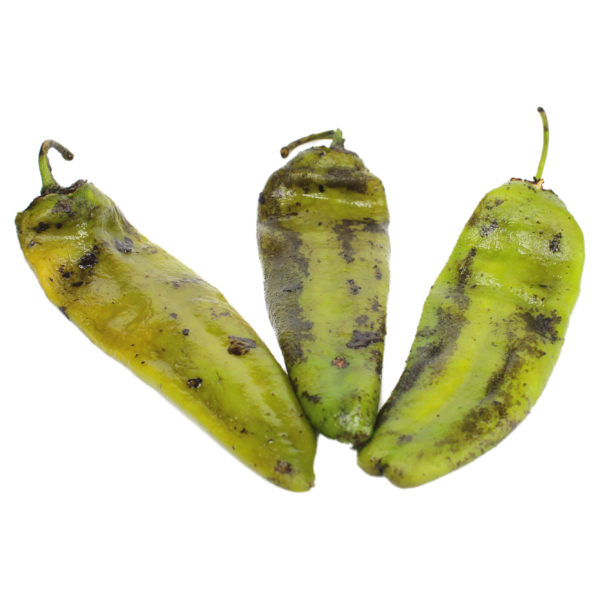 Anaheim Green Chile, Fire Roasted, Whole
